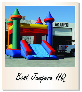 inflatable manufacturer, commercial moonwalks, USA made inflatables, high quality jumpers