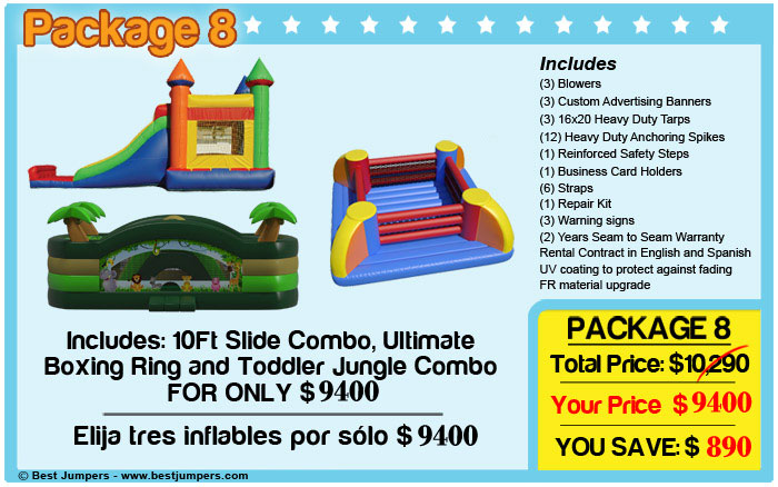 slide combo-ultimate-boxing-ring-jungle-combo