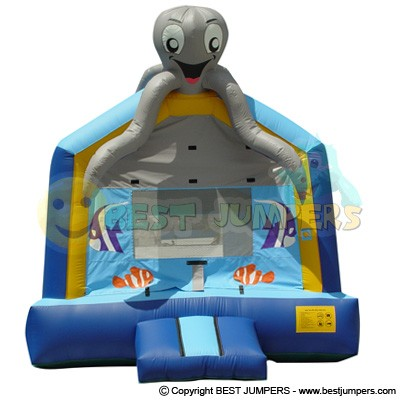 Sea World Inflatable - Small Bounce House - Moonwalk Games - Inflatable Fun