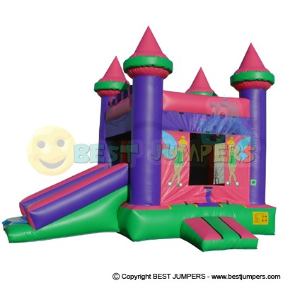 Bounce House Kids - Bouncy Castle - Combo Inflatable Unit - Jumpers For Sale