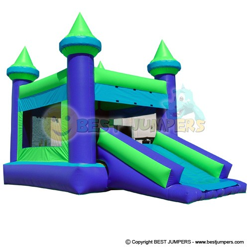 Combo Bounce House - 2 in 1 Bouncy Castle - Inflatable Moonwalk - Inflatable Jumper