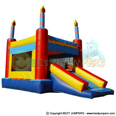 Interactive Inflatables - Princess Bounce House - Commercial Inflatable Bouncers - Combo Bounce House