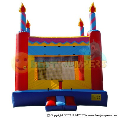 Indoor Family Entertainment Inflatable - Party Jumpers For Sale - Inflatable Bounce House - Birthday Cake Inflatable