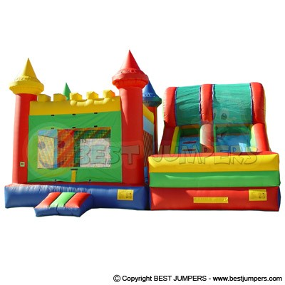 Inflatable Jumps - Purchase Blow Up Bouncer - Kids Jumper For Sale - Jumping Castle With Slide