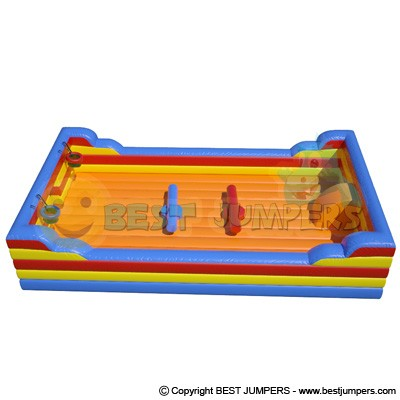 Mini Bounce House - Inflatable Games - Bungee Game - Interactive Jumpers