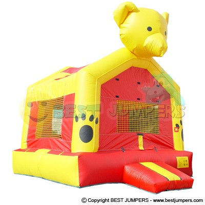 Teddy Bear Bounce House - Bounce Houses - Inflatable Jumper  -  Bouncy Castle