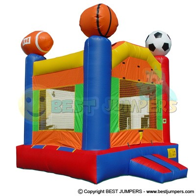 Sports Bounce House - Inflatable Jumps - Inflatable Interactive - Bounce House Business