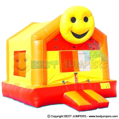 Happy Face Bounce House - Inflatables To Buy - Party Inflatables - Small Bouncer