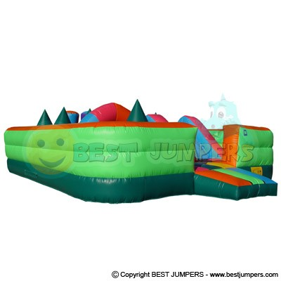 Toddler Combo - Inflatable Challenge Course - Moonbounce - Inflatable Manufacturer