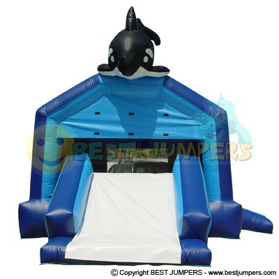 Inflatable Bouncers - Wholesale Inflatables - Ultimate Combo Inflatable Bounce House - Party Bouncers