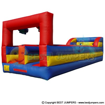 2 Lane Bungee Run - Inflatable Course - Challenge Course - Combo