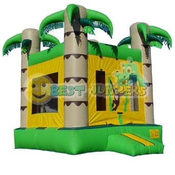 Jungle Bounce House - Bouncer - Moonwalks - Balloon Jumpy