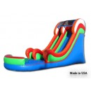 18 FT Colorful Water slide for sale