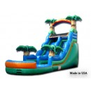 20Ft Tropical Water Slide #2 for sale