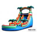 20Ft Tropical Water Slide #4 for sale