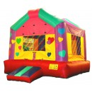 Love Bounce House - Girls Inflatables House - Party Bouncers - Indoor Inflatable