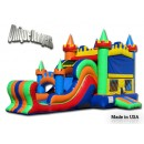 Moonbounce-castle combo - Inflatable Castle - The Bounce House - Ultimate Combo
