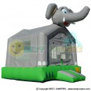Indoor Family Entertainment Inflatable - Party Jumpers For Sale - Inflatable Bounce House - Elephant Inflatable
