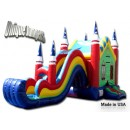 US Manufacturer - Party combo Jumpers - Residential Inflatables - Bounce Houses With Slide