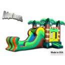 Jumping Castle - Bouncers For Sale - Buy Inflatables - Bouncy Castle-Tropical combo