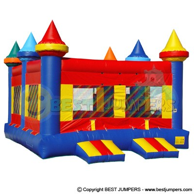 Castle Bounce House - Bounce House for Sale - Wholesale Inflatables